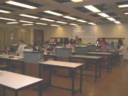 Moravian College Chemistry Department: General Chemistry Lab